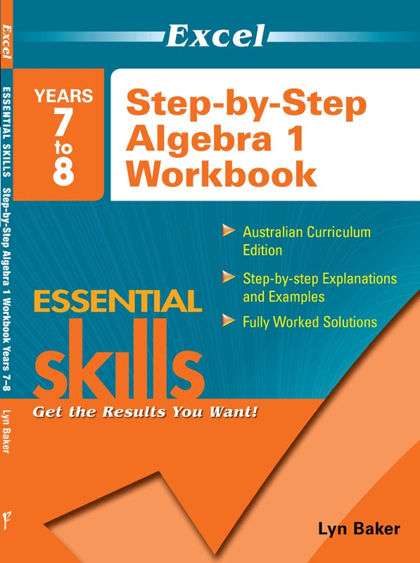 EXCEL ESSENTIAL SKILLS STEP BY STEP ALGEBRA