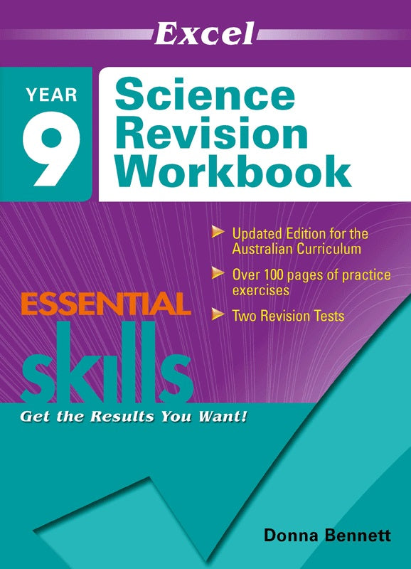 EXCEL ESSENTIAL SKILLS SCIENCE REVISION WORKBOOK YEAR 9