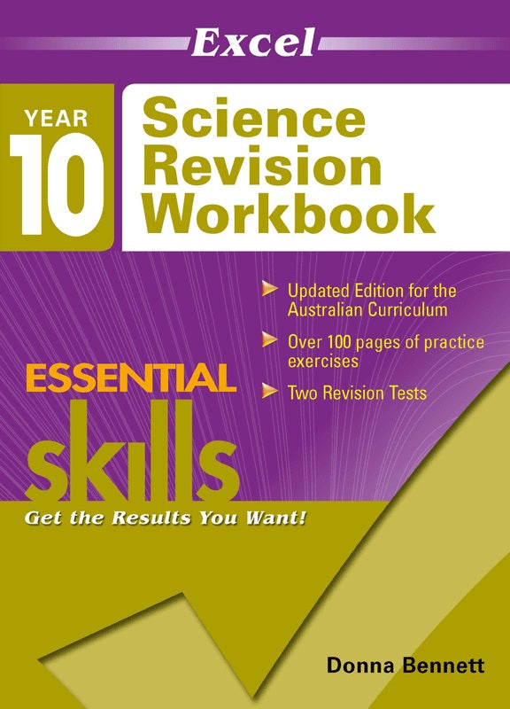 EXCEL ESSENTIAL SKILLS SCIENCE REVISION WORKBOOK YEAR 10