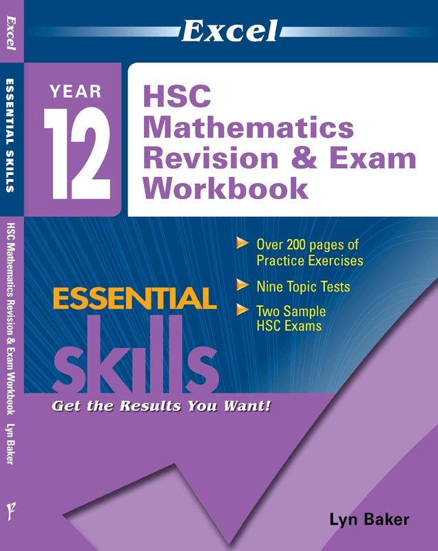 EXCEL HSC MATHS REV & EXAM WORKBOOK