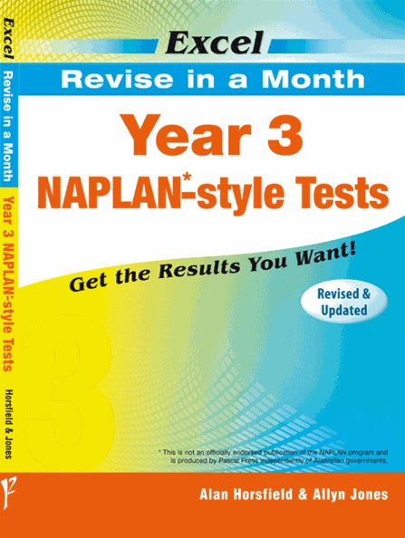 Naplan - Revise in a Month - Year 3 - Excel