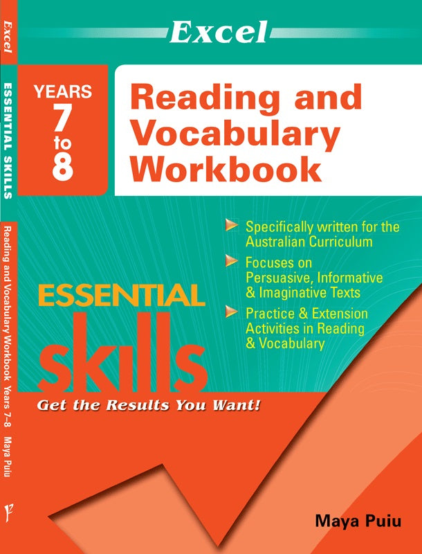 EXCEL ESSENTIAL READING & VOCAB YEAR 7-8