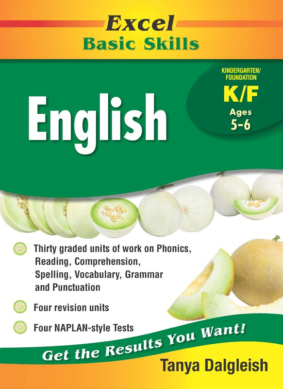 EXCEL BASIC SKILLS ENGLISH YEAR K