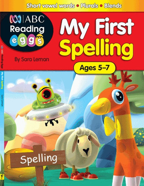 Reading Eggs - My First Spelling - Excel