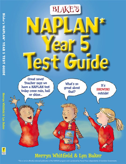 Blakes Naplan Test Guide - Year 5 - Excel