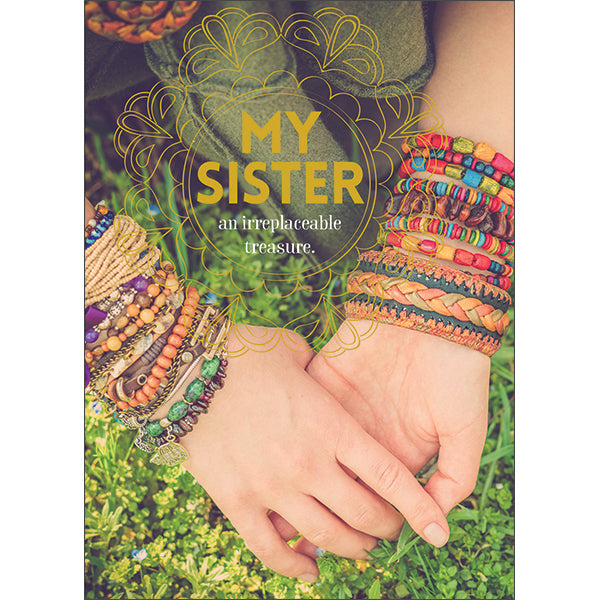 Affirmations Spiritual Card - My Sister