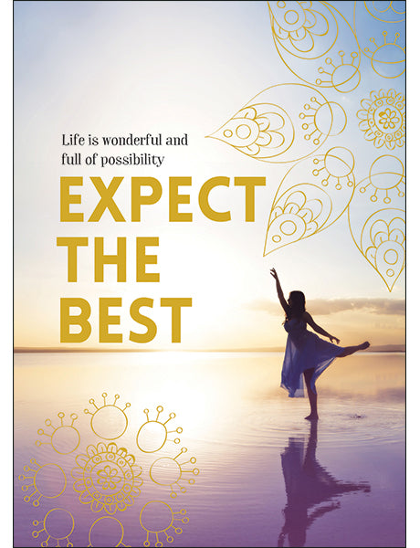 Affirmations Spiritual Card - Expect the Best