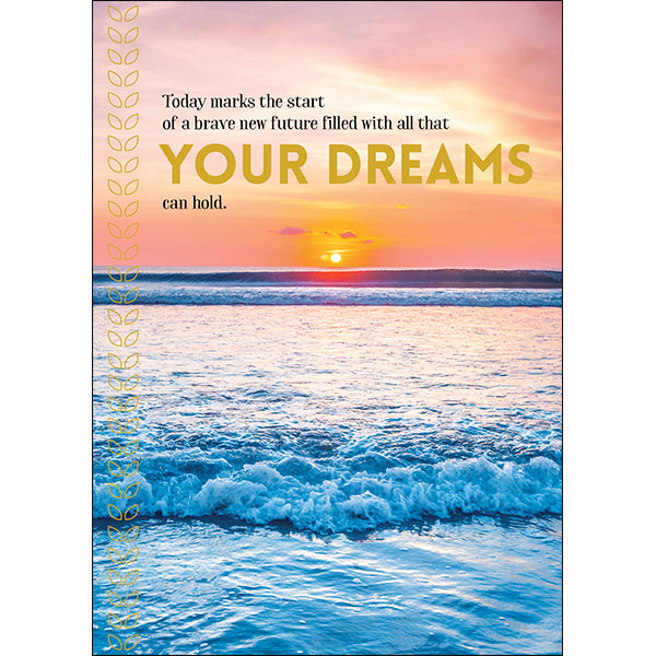 Affirmations Spiritual Card - Your Dreams