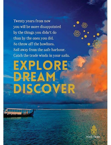 Affirmations Spiritual Card - Explore Dream Discover