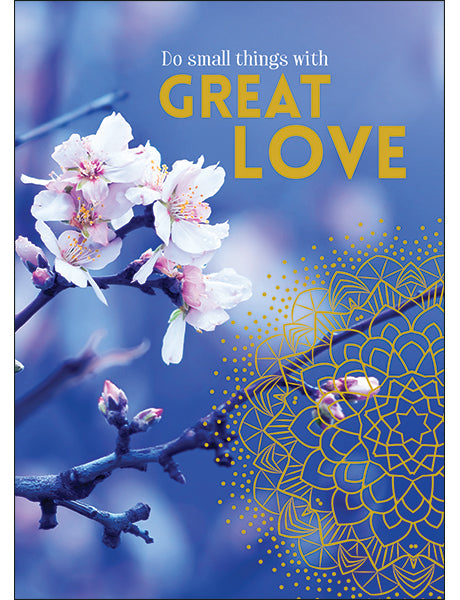 Affirmations Spiritual Card - Do Small Things