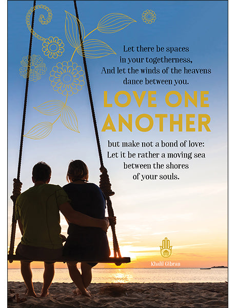 Affirmations Spiritual Card - Let There Be Space