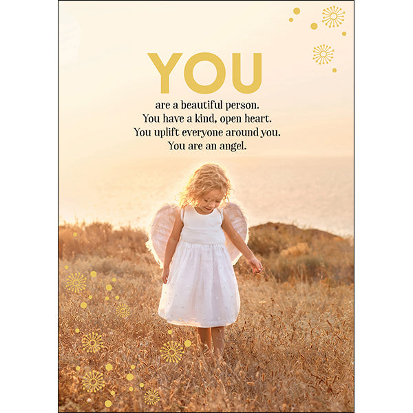 Affirmations Spiritual Card - You are a Beautiful Person