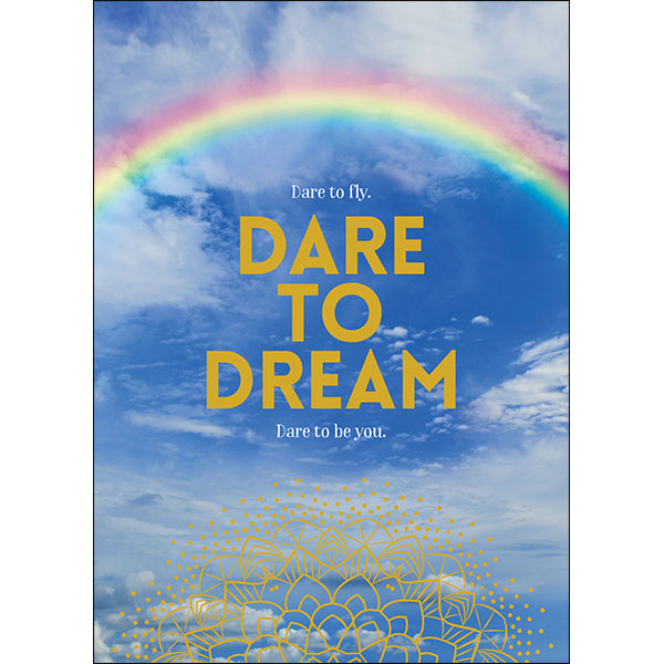 Affirmations Spiritual Card - Dare to Dream
