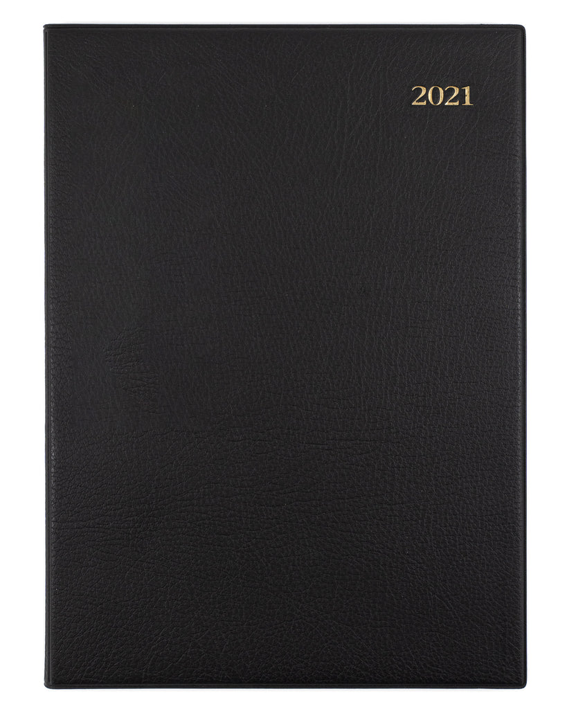 Associate - A4 - Week to View - Black - 2021 Diary