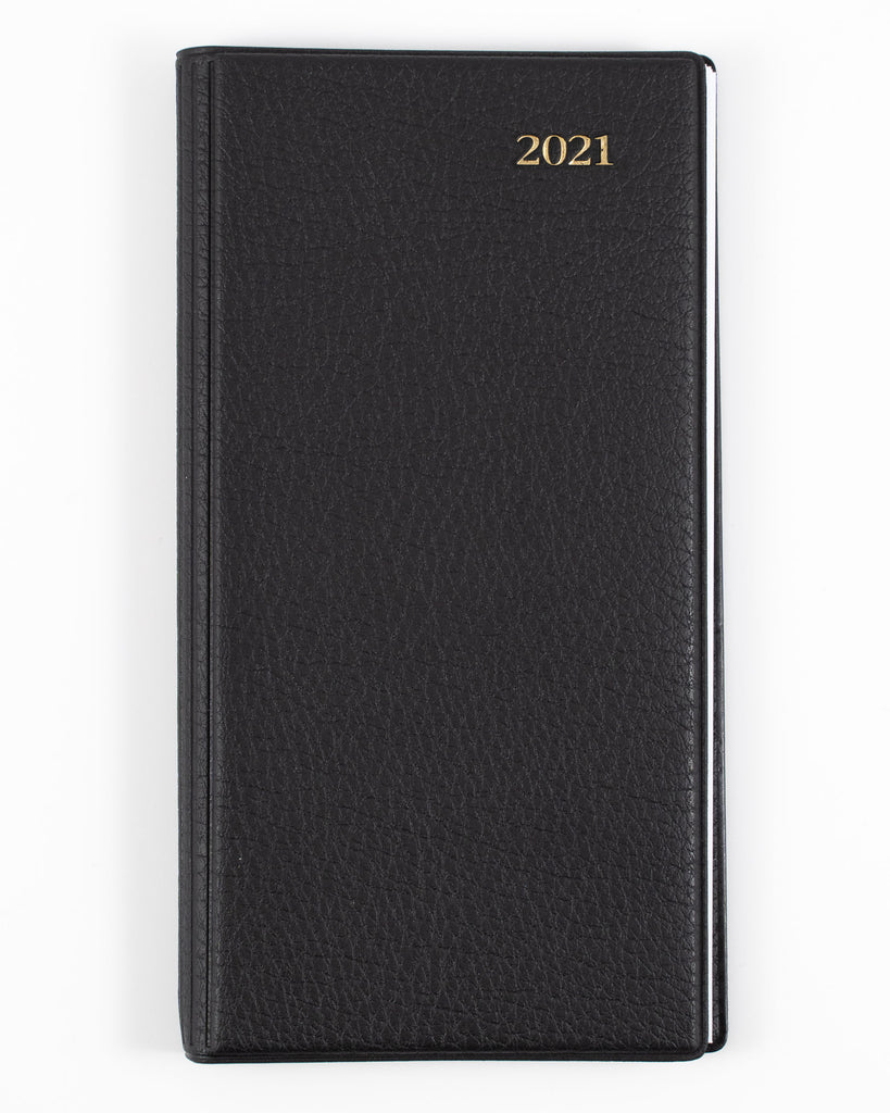 Associate - B6/7 - Week to View - Black - 2021 Diary - Collins Debden