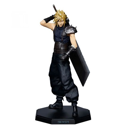 Final Fantasy 7 Remake - Cloud Strife W/Buster Sword - Statuette