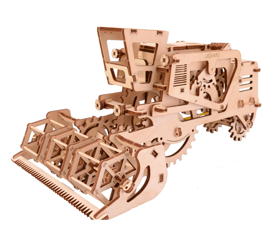 Combine Harvester - 154 Pieces - UGears