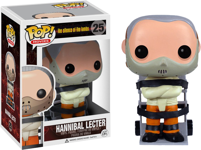 POP VINYL SILENCE OF THE LAMBS - HANNIBAL LECTER #25