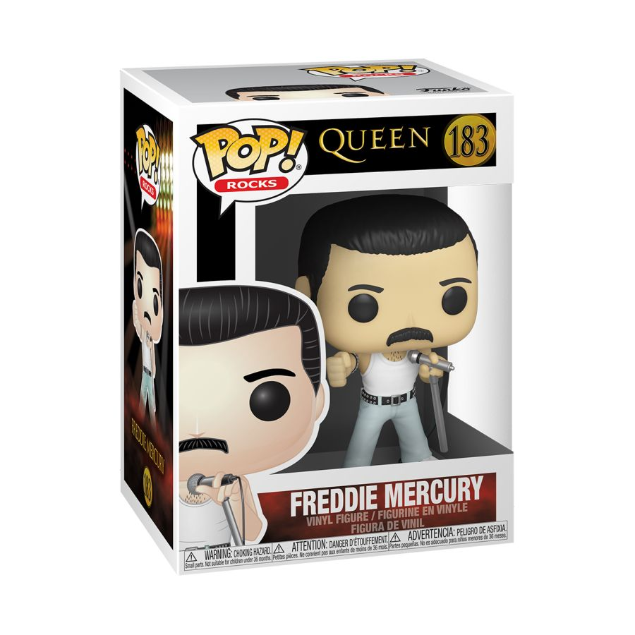Queen - Freddie Mercury Radio Gaga - #183 - Pop! Vinyl