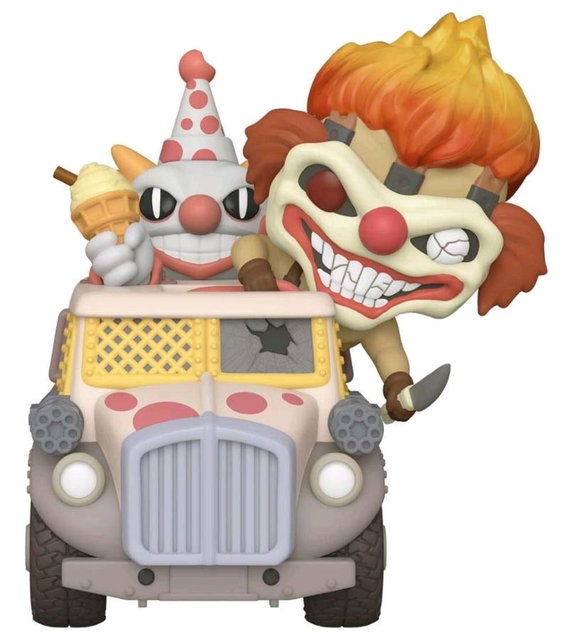 Twisted Metal - Sweet Tooth & Ice Cream Truck - Ride - #NA - Pop! Vinyl