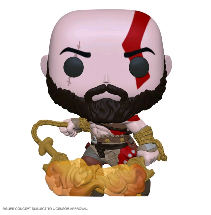 God of War - Kratos W/Blades Glow in the Dark - #NA - Pop! Vinyl