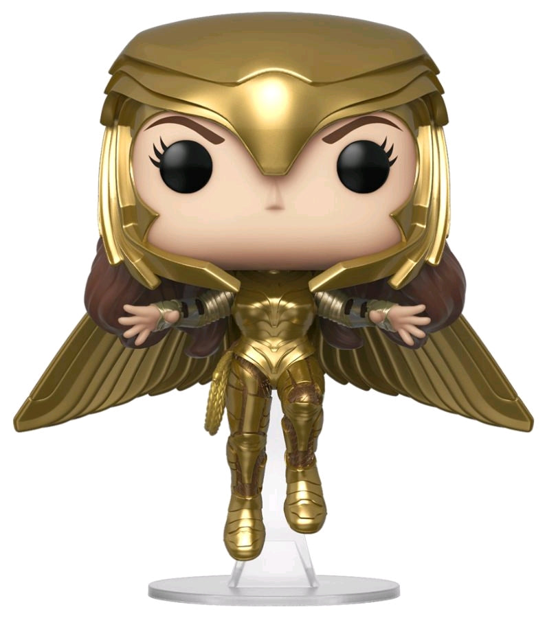 Wonder Woman 2 - Wonder Woman Gold Flying Pose - #324 - Pop! Vinyl