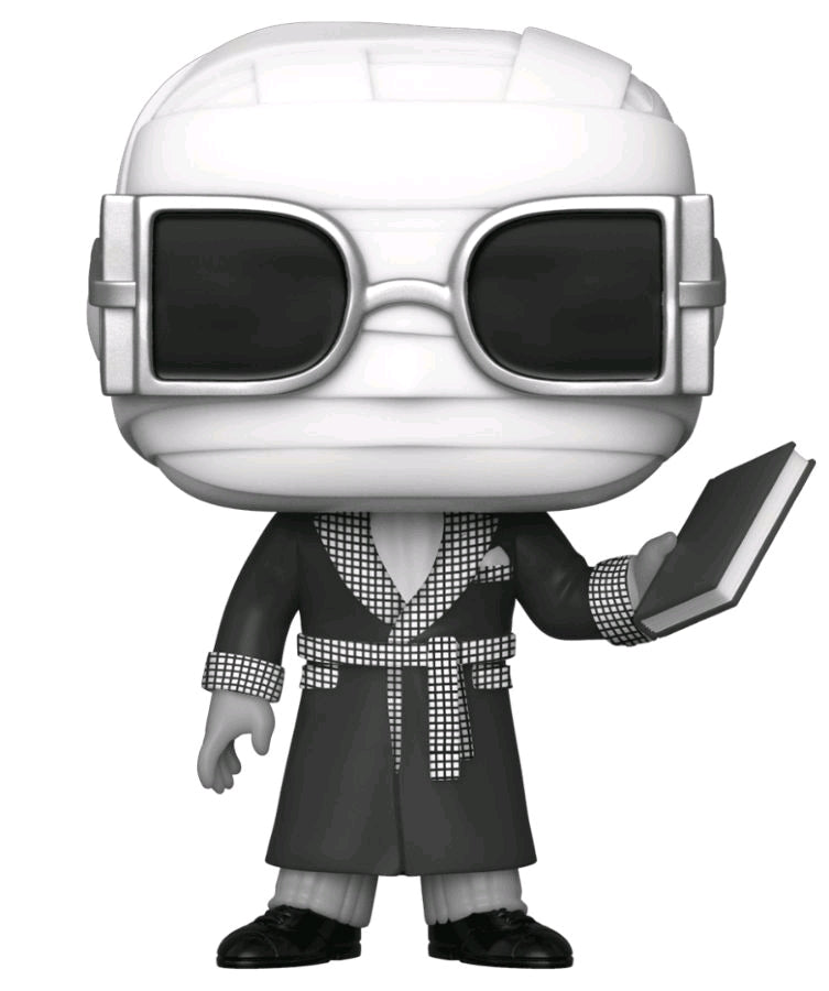 Universal Monsters - Invisible Man Black & White - #608 - Pop! Vinyl