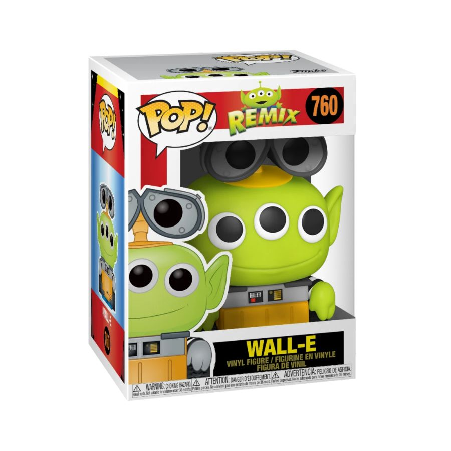 Pixar Alien Remix - Wall-E - #760 - Pop! Vinyl