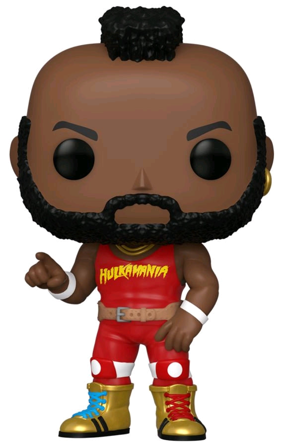 WWE - Mr T Hulkamania Shirt - #NA - Pop! Vinyl