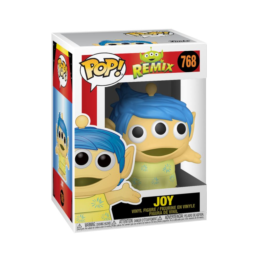 Pixar Alien Remix - Joy - #768 - Pop! Vinyl