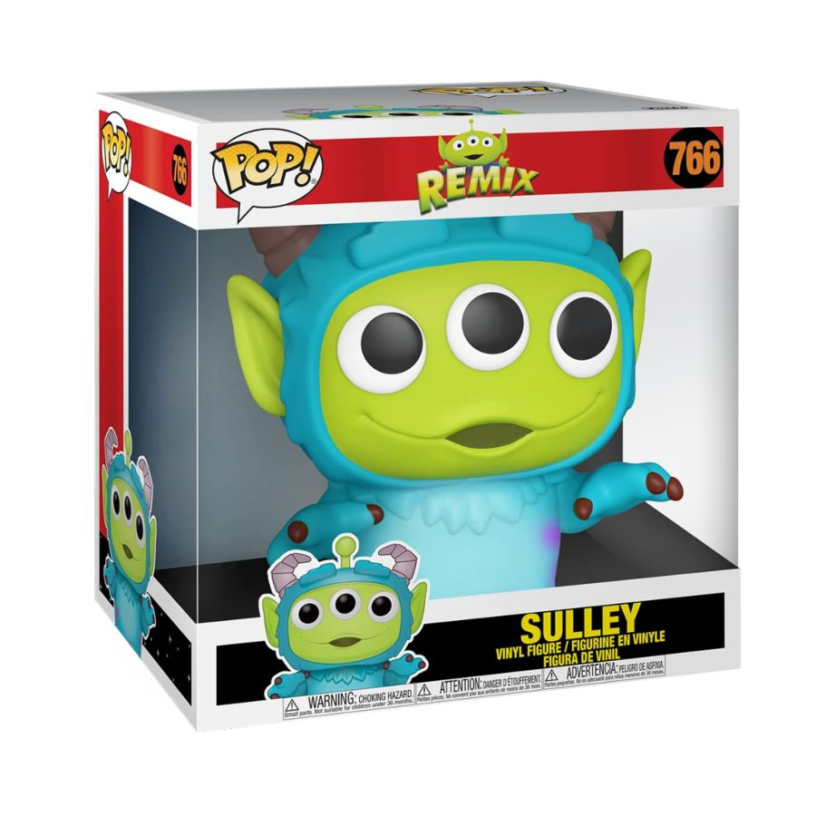Pixar Alien Remix - Sulley - 10 Inch - #766 - Pop! Vinyl