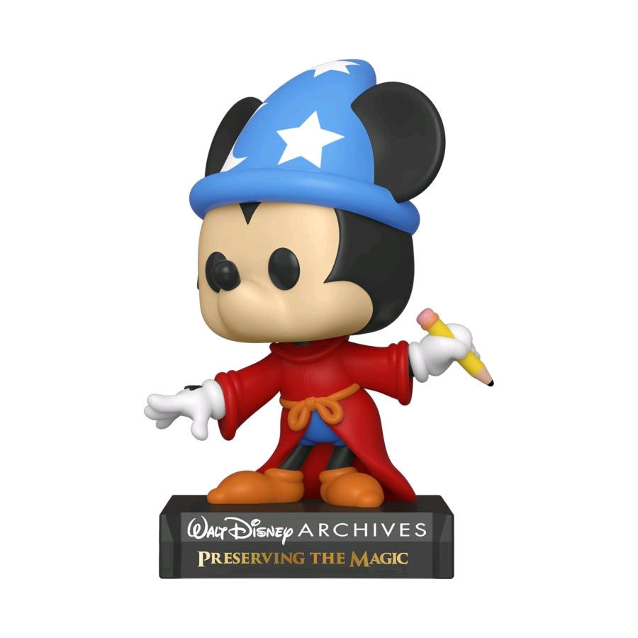 Disney Archives - Sorcerer Mickey - #NA - Disney - Pop! Vinyl
