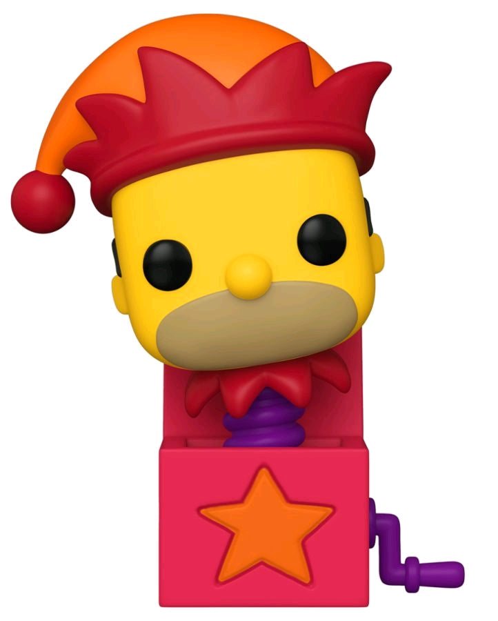 The SImpsons - Treehouse of Horrors - Homer Jack in the Box - #1031 - Pop! Vinyl