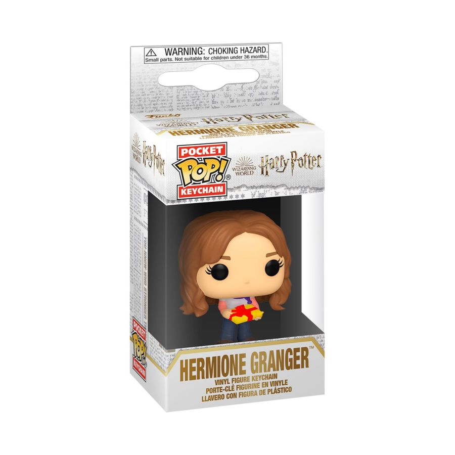 Harry Potter - Holiday Hermione - Keychain - Pop! Vinyl