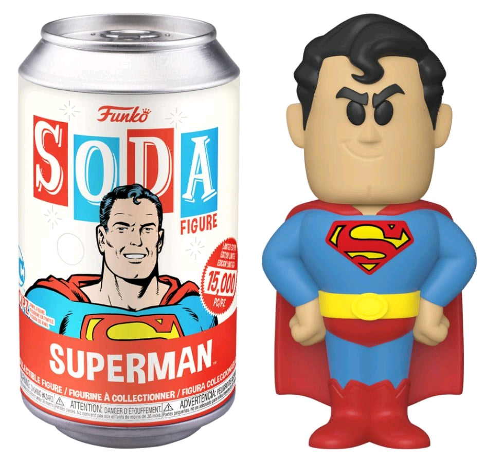 Superman - Vinyl Soda - Pop! Vinyl
