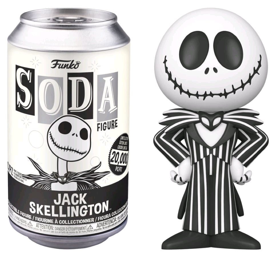 Nightmare Before Christmas - Jack Skellington - Vinyl Soda - Pop! Vinyl