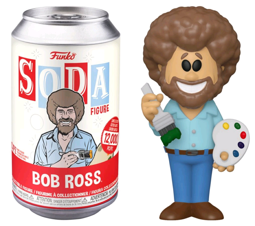 Joy of Painting - Bob Ross - Vinyl Soda - Pop! Vinyl