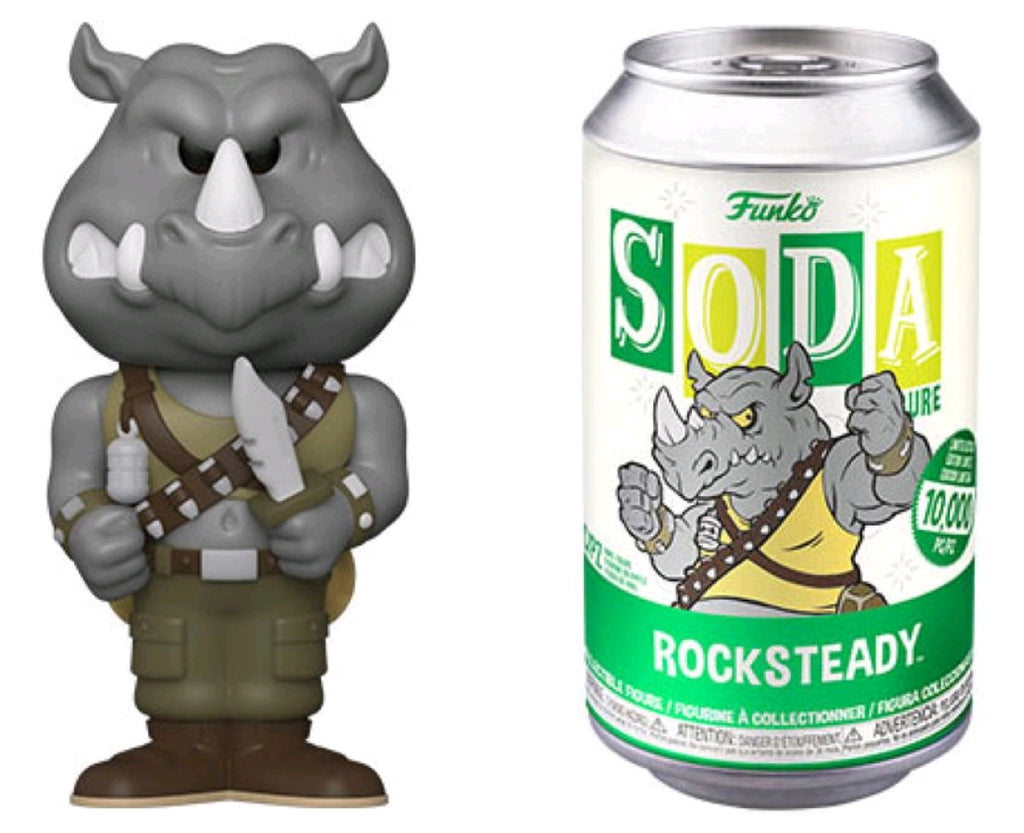 Teenage Mutant Ninja Turtles - Rocksteady - Vinyl Soda - Pop! Vinyl