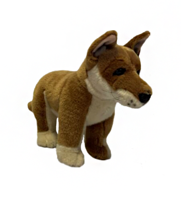 Frazer - Dingo - 25cm Standing - Plush Animals - Bocchetta