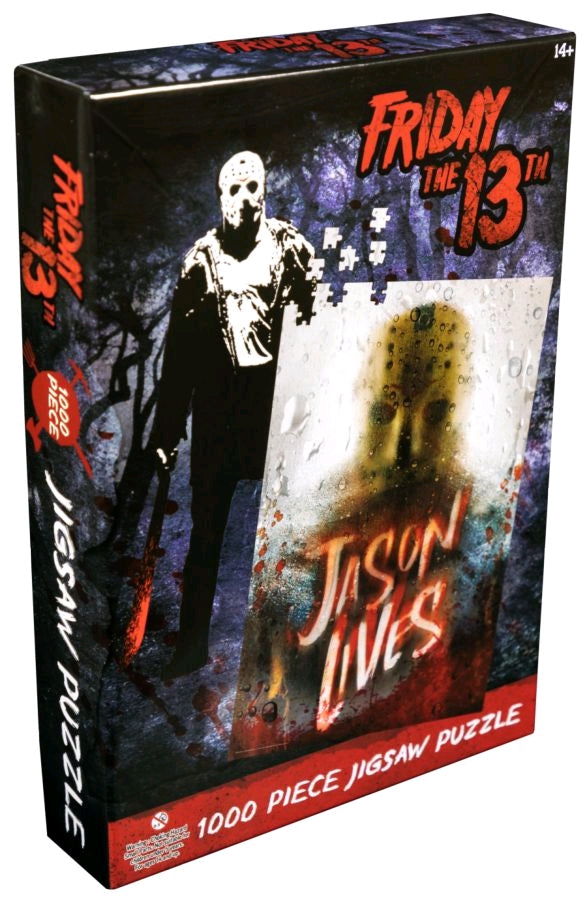 1000 Piece - Friday the 13th - Jason Lives - Jigsaw Puzzle