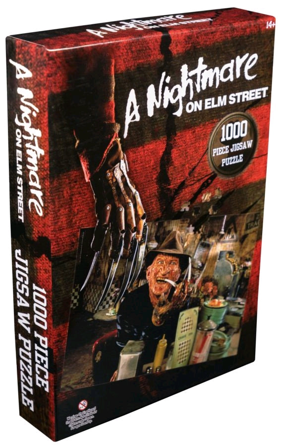 1000 Piece - Nightmare on Elm Street - Freddy Diner - Jigsaw Puzzle