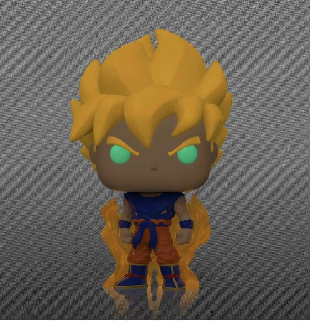 Dragonball Z - Goku Super Siayan - Glow in the Dark - #860 - Pop! Vinyl