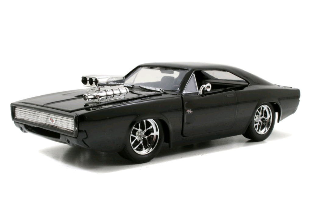 Fast & Furious Diecast Models - Dom's 1970 Dodge Charger - 1:24