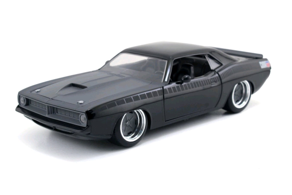 Fast & Furious Diecast Models - Letty's 1973 Plymouth Narracuda - 1:24