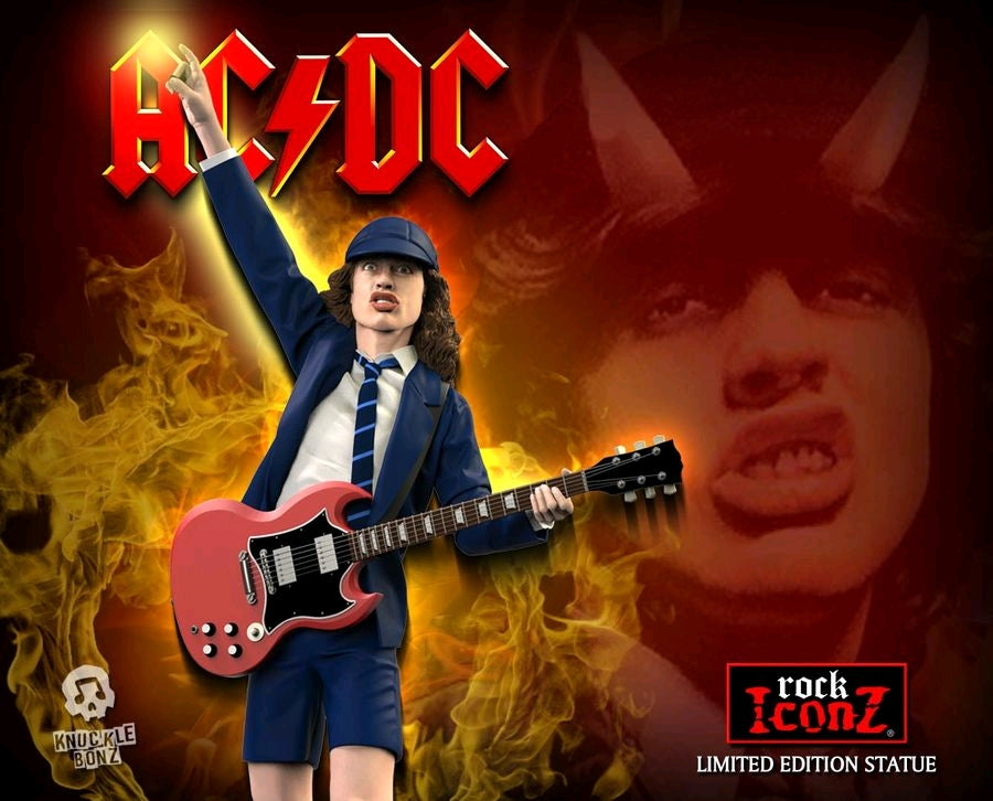 ACDC - Angus Young II - Rock Iconz Statue