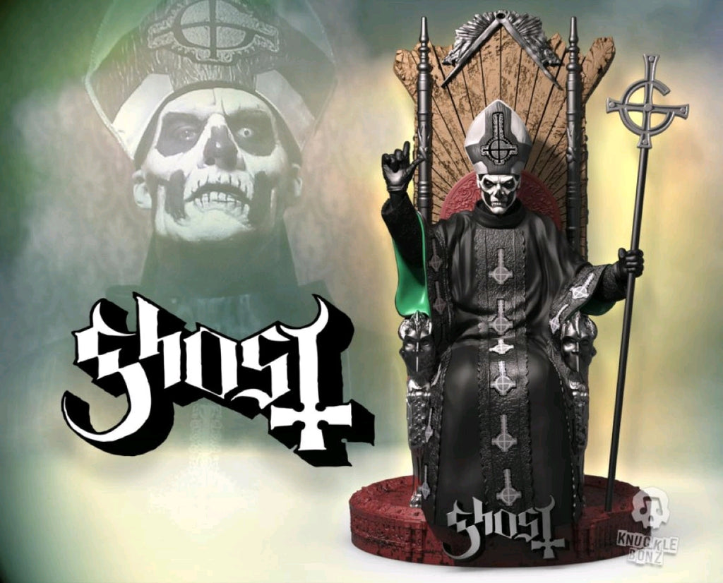 Ghost - Papa Emeritus II - Rock Iconz Statue