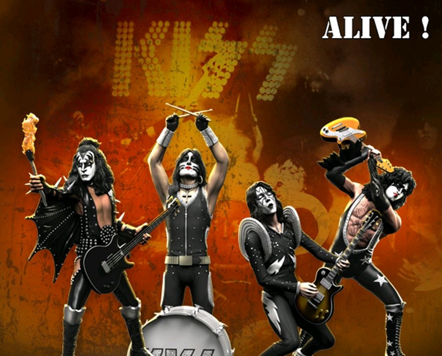 KISS - Set of 4 - Rock Iconz Statue