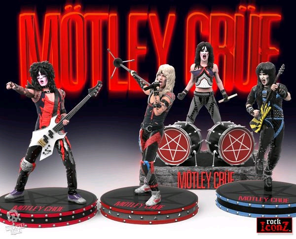 Motley Crue - Set of 4 - Rock Iconz Statue