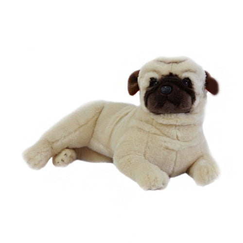 Kaos - Pug - 44cm Lying - Plush Animals - Bocchetta