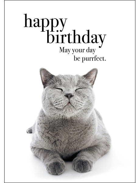 Affirmations Animal Card - Happy Birthday